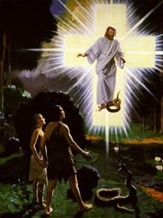 Из стоящих здесь иисус